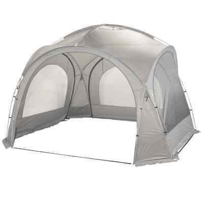Bo-Camp Lightweight Party Shelter Grey Outdoor Tent Gazebo Marquee Canopy • 159.54£
