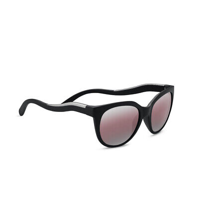 8a98c89e82cb Serengeti Lia 52mm Polarized Sedona Sunglasses For Women (Matte Black) •  119.99$
