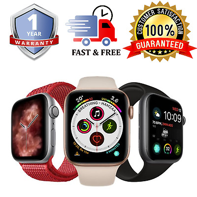 $ CDN409.21 • Buy Apple Watch Series 4 Various Sizes / Colours  - GPS And Cellular Available
