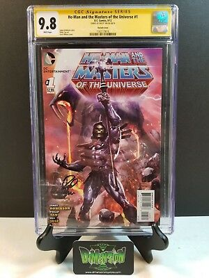 $5999.95 • Buy He-man Masters Of The Universe #1 Cgc Ss 9.8 Wilkins Skeletor Variant Signed
