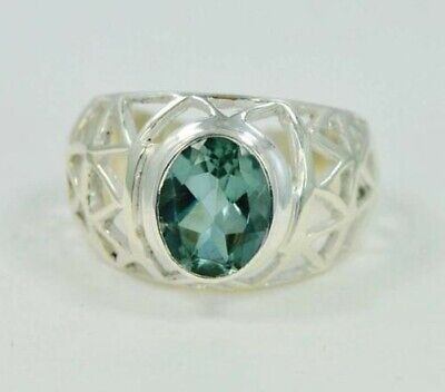 AU41.38 • Buy Color Chage Alexandrite June Birthstone 925 Sterling Silver Ring #mp4