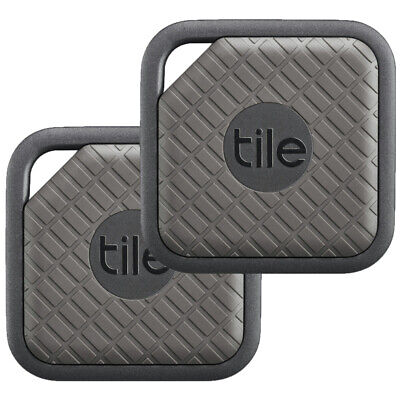 View Details Tile Sport Key And Phone Finder Tracker  2 Pack - Graphite New UK EC-09002 • 24.99£