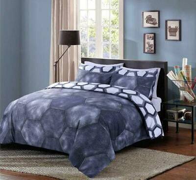 Baroque Skull Duvet Cover With Pillow Cases Gothic Quilt Bedding Set All Size • 15.99£