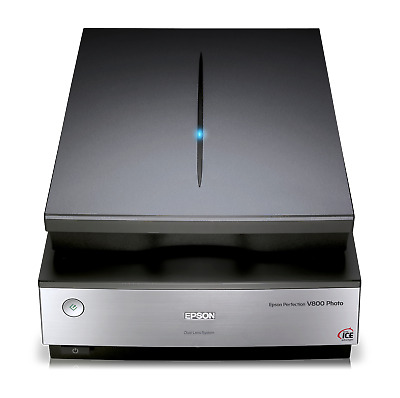 View Details Epson Perfection V800 Home Film And Photo Scanner With ReadyScan LED Technology • 429.99£