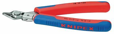 Knipex Electronic Side Wire Cutters Without Bevel 125mm Precision Shaped Tips • 26.92£