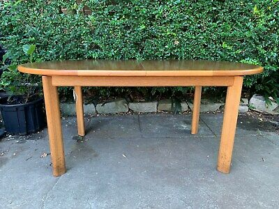 AU600 • Buy Vintage Parker Elm Extension Dining Table And 8 Chairs C.1985