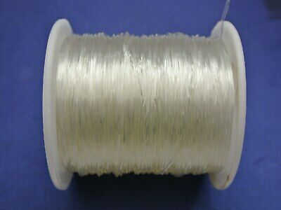 $ CDN8.20 • Buy 100 Meter Clear Stretch Elastic Beading Cord String Thread 1mm On Spool Jewelry