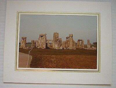 Stonehenge Photograph, Postcard Interest • 1.99£