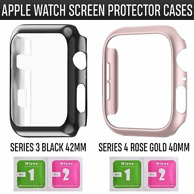AU7.49 • Buy For Apple Watch Series 3 4 IWatch  Clear TPU Screen Protector Case Front Cover