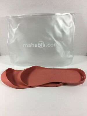 $12 • Buy Mahabis Womens Shoe Slippers Bottom Soles Pink Size 40 EUR = US Size 9