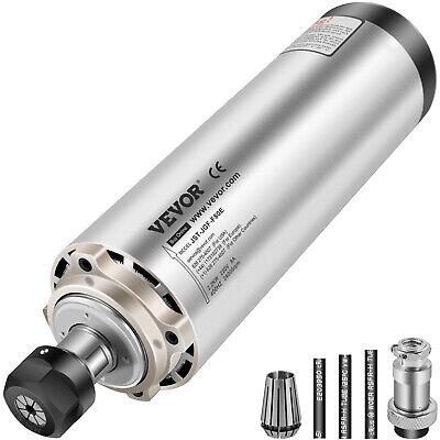 $159.97 • Buy 2.2KW Air Cooled Spindle Motor 80MM For CNC Router Milling Engraving 4 Bearings