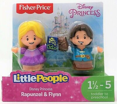 Little People Disney Princess Rapunzel And Flynn Rider Figure Toy • 9.49£