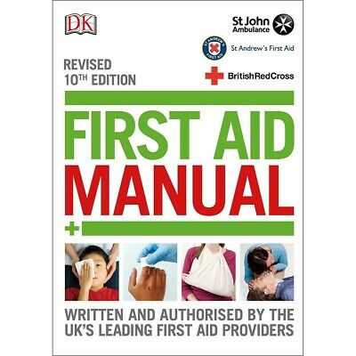 £8.99 • Buy First Aid Manual By DK Health Guide St Johns Ambulance Book Medical