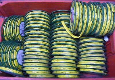£950 • Buy Partex Industrial Cable Markers A-Z Job Lot  Diameter  5.0-605mm