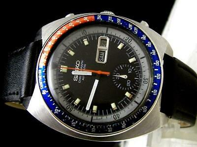$ CDN1493.64 • Buy Vintage Rare Watch Seiko Chronograph Inner Diver 6139-6005 Released In 1973