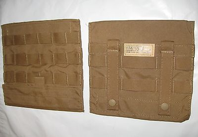 $14 • Buy Set-2 USMC MOLLE MARSOC FSBE Side Plate Carrier Admin Utility Map Pouch EAGLE IN