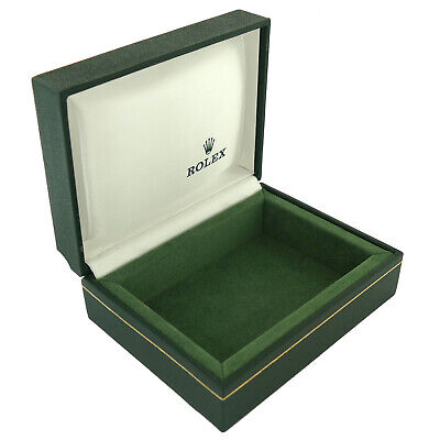 $ CDN187.08 • Buy Vintage Rolex Green Leather & Suede Interior Watch Box Without Pillow 11.00.71