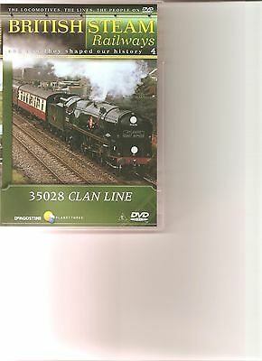 British Steam Railways (No.4) 35028 Clan Line DVD • 1.99£