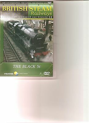 British Steam Railways (No.11) The Black 5s DVD • 2.49£