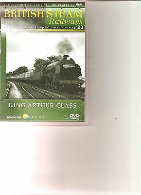 British Steam Railways (No.23) King Arthur Class DVD • 2.99£