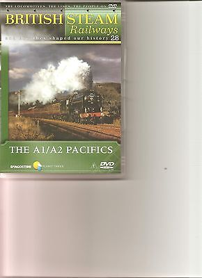 British Steam Railways (No.28) The A1/A2 Pacifics DVD • 2.99£