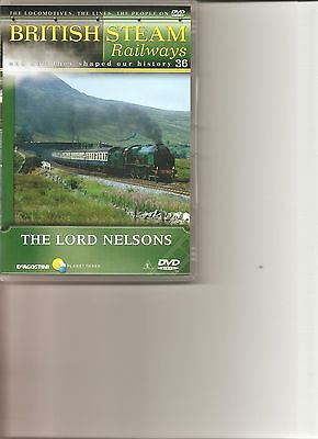 British Steam Railways (No.36) The Lord Nelsons DVD • 2.99£
