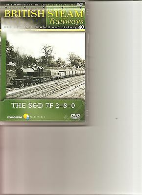 British Steam Railways (No.40) The S&D 7F 2-8-0 DVD • 3.99£