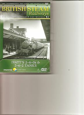 British Steam Railways (No.41) Ivatt's 2-6-0s & 2-6-2 Tanks DVD • 2.99£