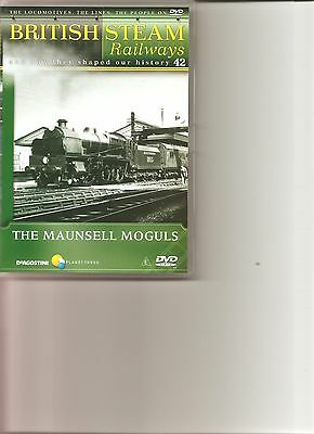 British Steam Railways (No.42) The Maunsell Moguls DVD • 3.99£