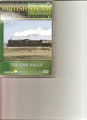 British Steam Railways (No.43) The GWR Halls DVD • 3.99£