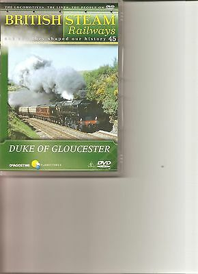 British Steam Railways (No.45) Duke Of Gloucester DVD • 2.99£