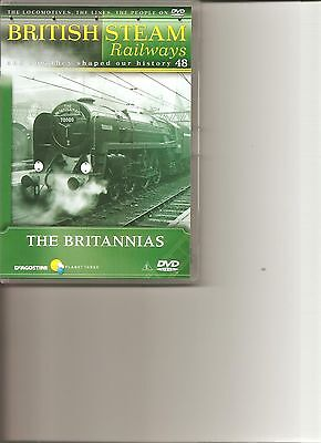 British Steam Railways (No.48) The Britannias DVD • 4.99£