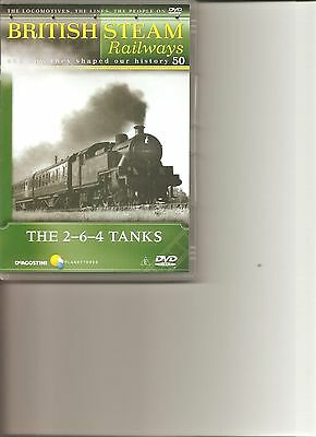 British Steam Railways (No.50) The 2-6-4 Tanks DVD • 3.99£