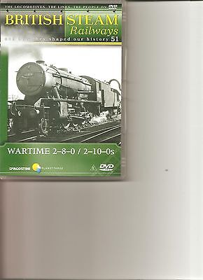 British Steam Railways (No.51) Wartime 2-8-0/2-10-0s DVD • 6.99£
