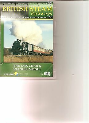 British Steam Railways (No.56) The LMS Crab & Stanier Mogul DVD • 4.99£