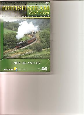 British Steam Railways (No.74) LNER Q6 And Q7 DVD • 3.99£