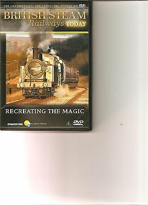 British Steam Railways : Today Recreating The Magic • 2.99£