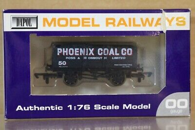 DAPOL PHOENIX COAL ROSS & MONMOUTH LTD 5 PLANK WAGON 50 LIMITED EDITION Ns • 24.50£