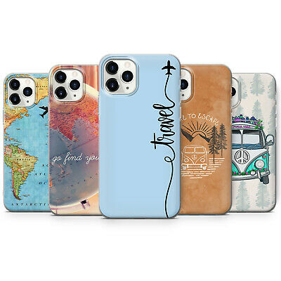£9.99 • Buy Travel, Plane, World Map Phone Case Van Cover For IPhone 11, 12, 7, 8, XR, X, 8
