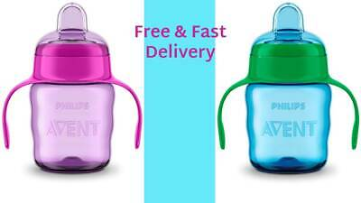 £8.99 • Buy Philips AVENT Easysip Spout Cup 7oz/200ml, Assorted Colors