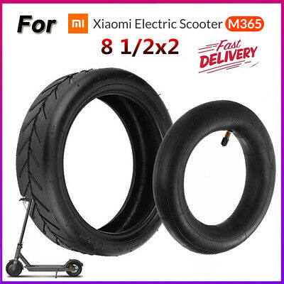AU30.06 • Buy For Xiaomi Mijia M365 Electric Scooter 8 1/2x2 Solid Outer Tire Wheel Inner Tube