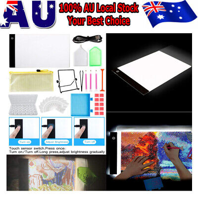 AU53.89 • Buy 5D Diamond Painting Embroidery Accessories A4 Lamp LED Pad Light Board Drawing