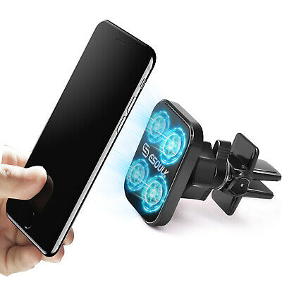 $9.99 • Buy Car Mount Air Vent Magnetic Phone Holder 360 Rotation For IPhone Galaxy GPS