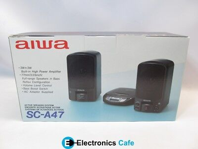 $7.06 • Buy Aiwa SC-A47 Active Speaker System