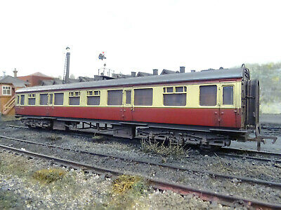 Bachmann Br Collett Coach W553 (lineside Weathered) 34-056a • 39.95£