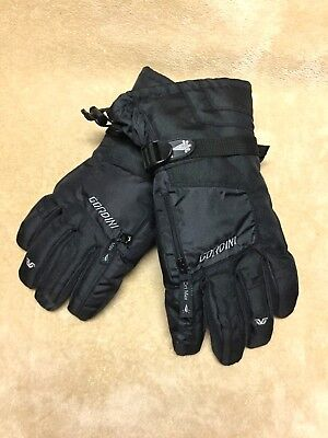 3c6c3cf174a6e Men's GORDINI Ultra Dri Max Gauntlet IV Medium Black Ski Gloves NWOT •  13.00$