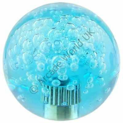 £1.45 • Buy Crystal Ball Top Handle With Bubbles For Arcade Joysticks - Blue