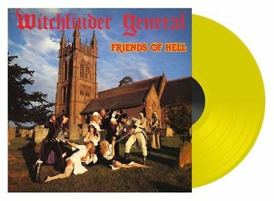 £17.09 • Buy WITCHFINDER GENERAL - Friends Of Hell  [YELLOW Vinyl / RSD-Edition] LP