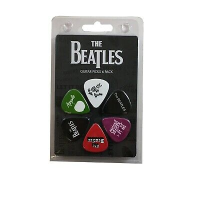 $ CDN6.77 • Buy Beatles Guitar Picks 6 Picks Logos Set 4