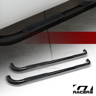 $120 • Buy For 1999-2016 Ford F250/F350 Superduty Crew 3  Side Step Nerf Bars Boards Hd Blk